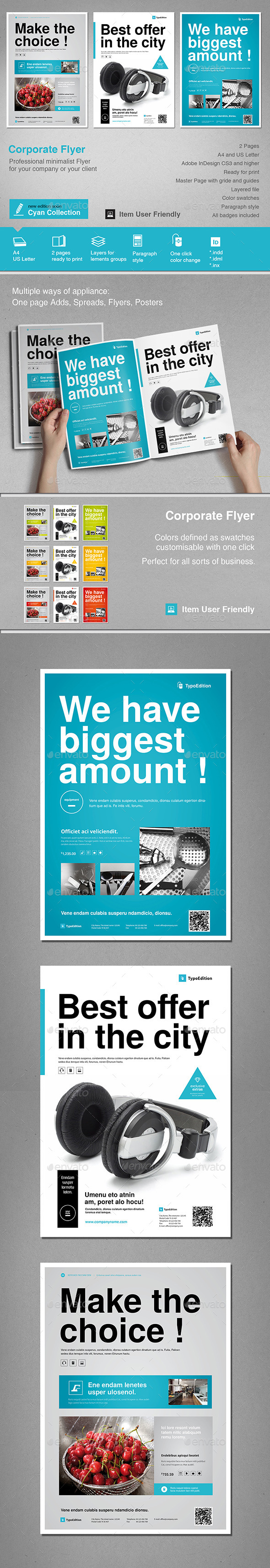 GraphicRiver Corporate Flyer 11550596