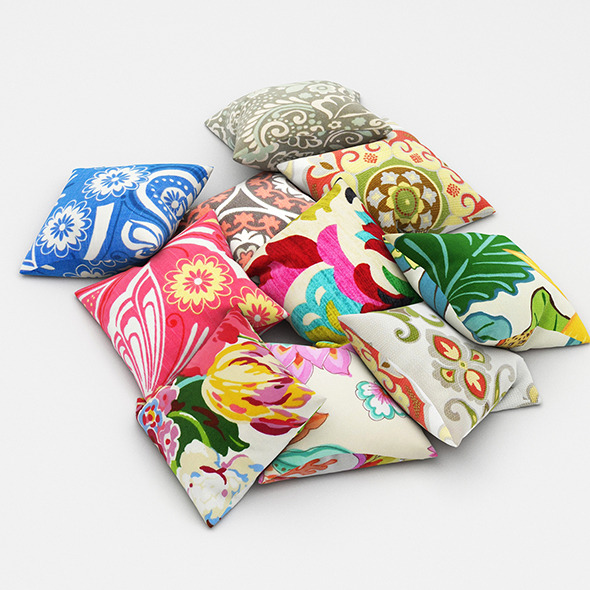 3DOcean Pillows 45 11550711