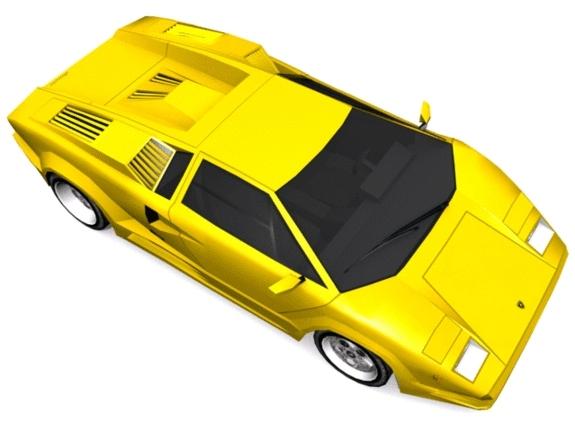 3DOcean Lamborghini Countach 1158948
