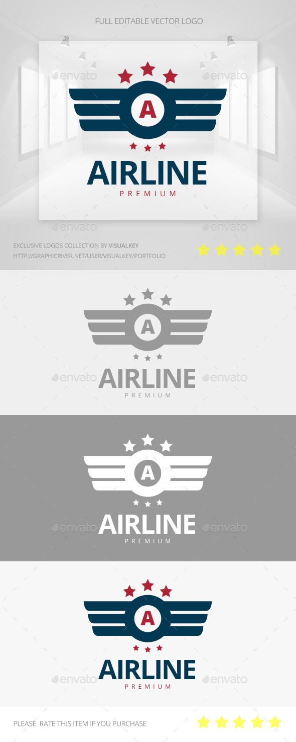 GraphicRiver Airline Logo 11550804