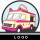 Ice Cream Van Logo - GraphicRiver Item for Sale