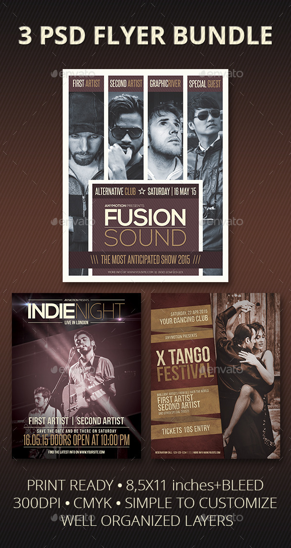 GraphicRiver Flyer Bundle 11452166