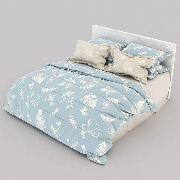 Bed 21 - 3DOcean Item for Sale
