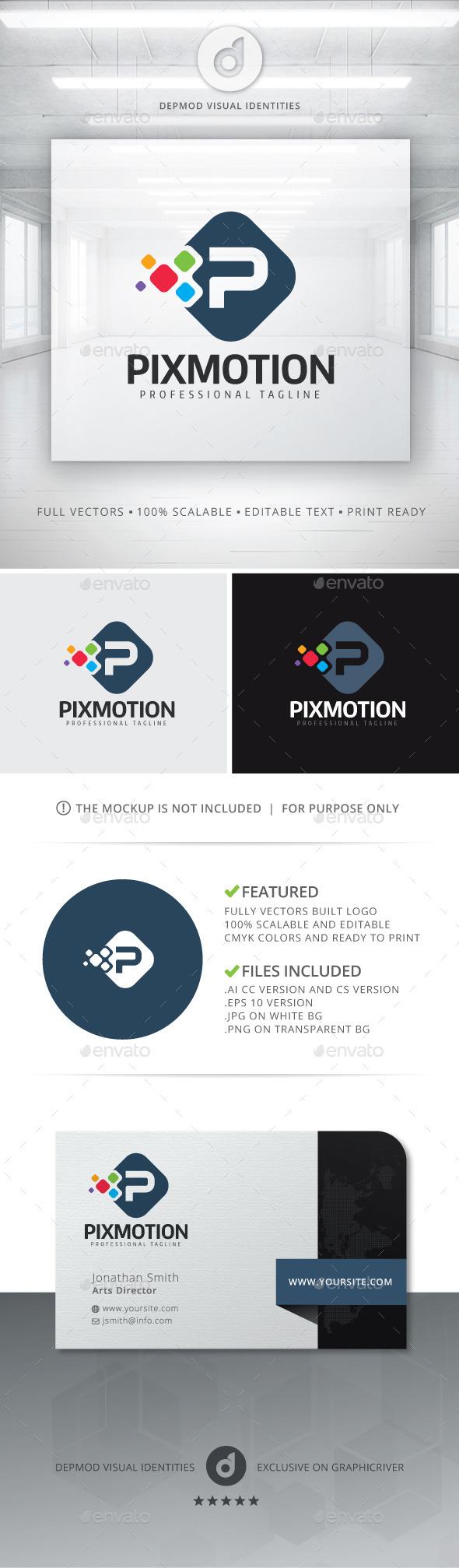 GraphicRiver Pixmotion Logo 11551353