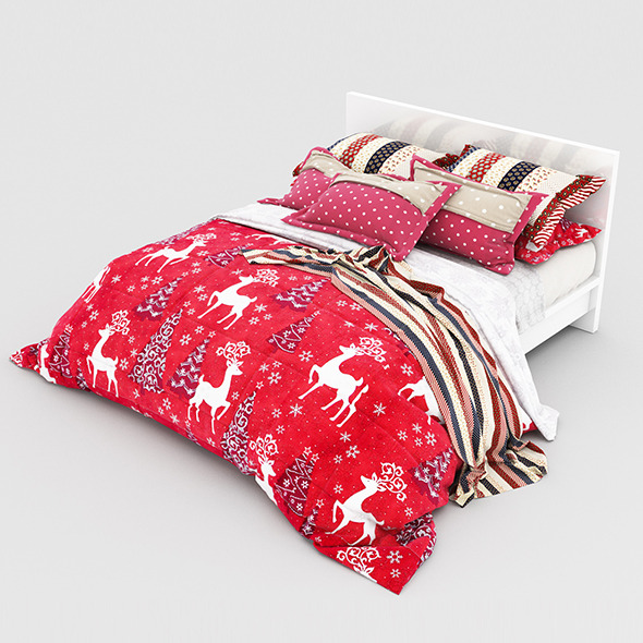 3DOcean Bed Christmas 11551514