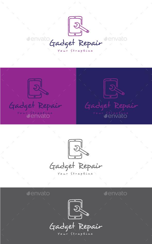 GraphicRiver Gadget Repair Logo 11551593