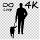 Man And Dog  Silhouette - VideoHive Item for Sale