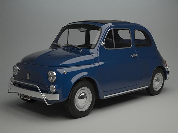3DOcean Fiat 500 L 1970 11550071