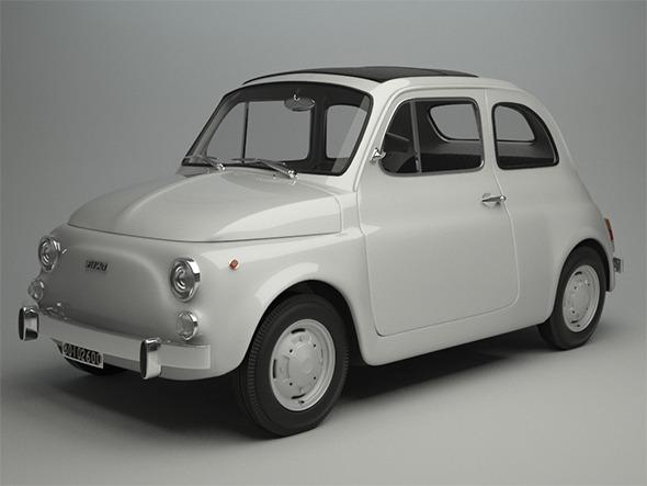 3DOcean Fiat 500 R 1975 11550147