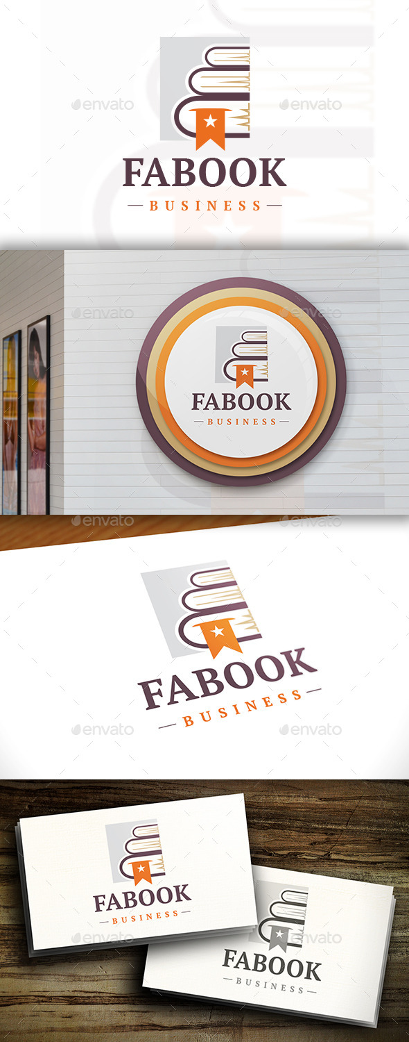 GraphicRiver Favorite Books Logo 11551883