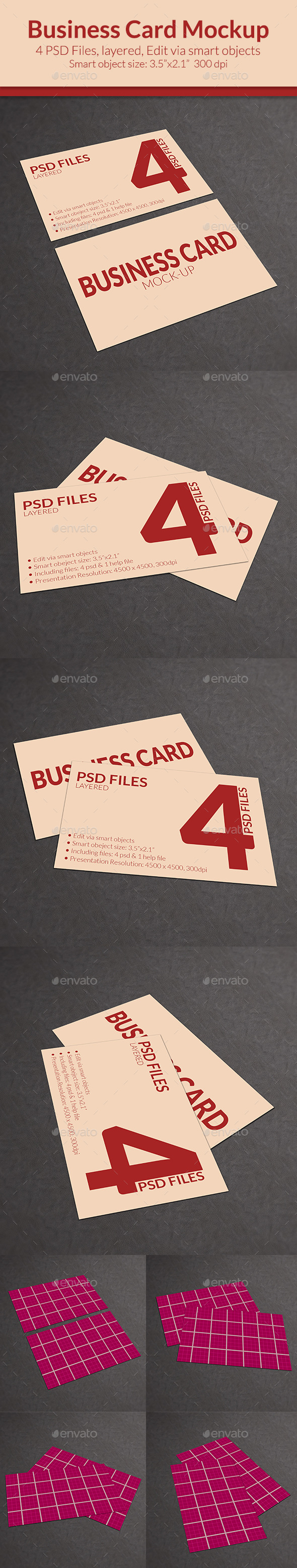 GraphicRiver Business Card Mock-up SS-15 11551936