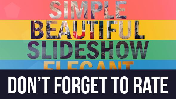Simple Slideshow Dynamic Opener