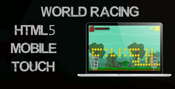 CodeCanyon World Racing Html5 Mobile Game 11552194
