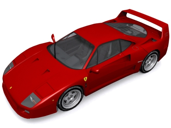 Ferrari F-40 - 3DOcean Item for Sale