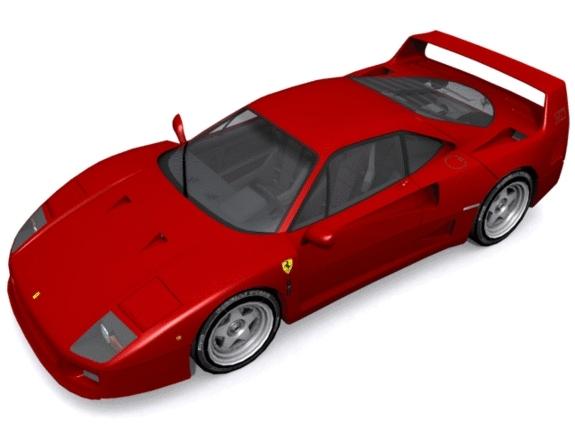 3DOcean Ferrari F-40 1159078