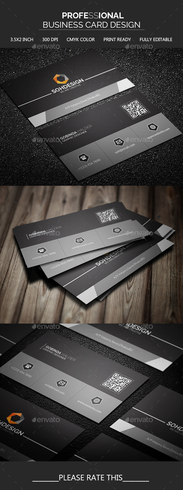 GraphicRiver Professional Business Card Design 11552445