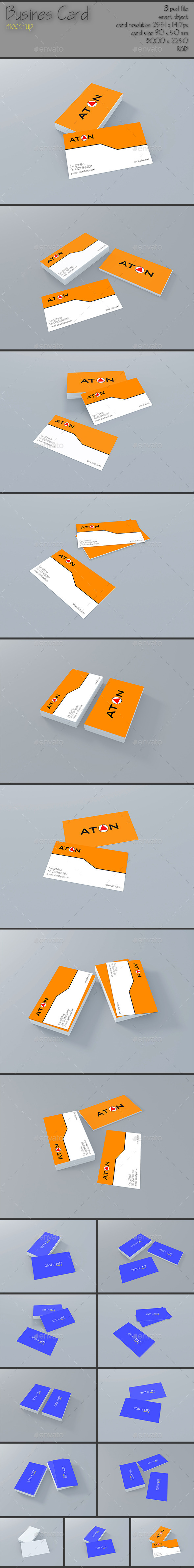 GraphicRiver Business Card Mock up 11552731
