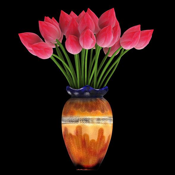 3DOcean Lotus 11552938