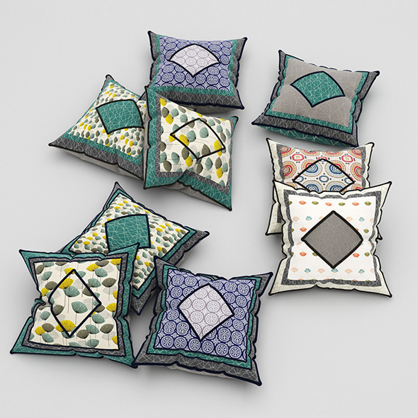 3DOcean Pillows 47 11553278