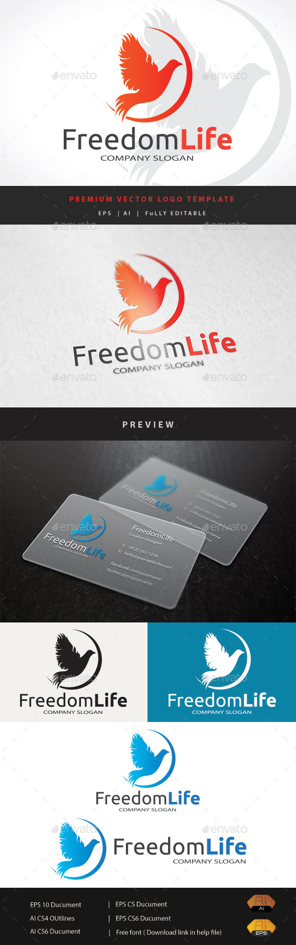 GraphicRiver Freedom Life 11553332