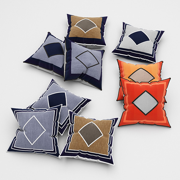 3DOcean Pillows 52 11553364