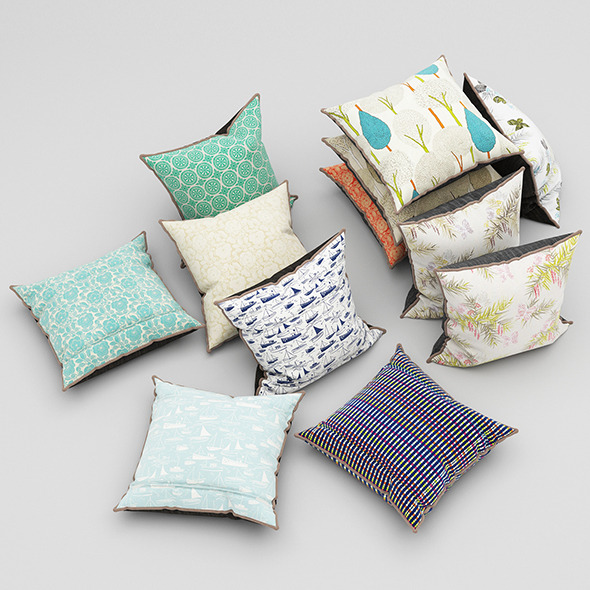 3DOcean Pillows 48 11553401