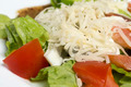 Closeup of salad with vegetables and fish - PhotoDune Item for Sale