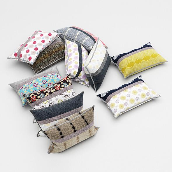 3DOcean Pillows 51 11553745