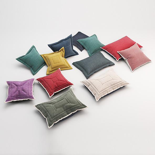 3DOcean Pillows 60 11553750