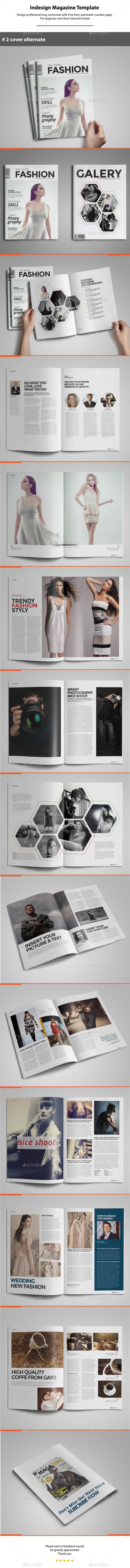 GraphicRiver Indesign Magazine Template 11553758