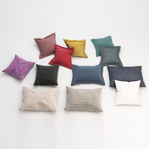3DOcean Pillows 61 11553765