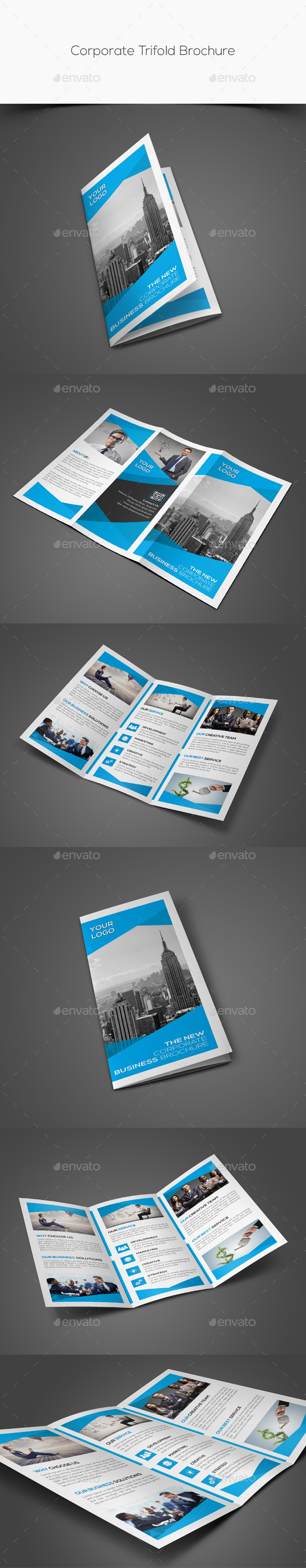 GraphicRiver Corporate Trifold Brochure 11554101