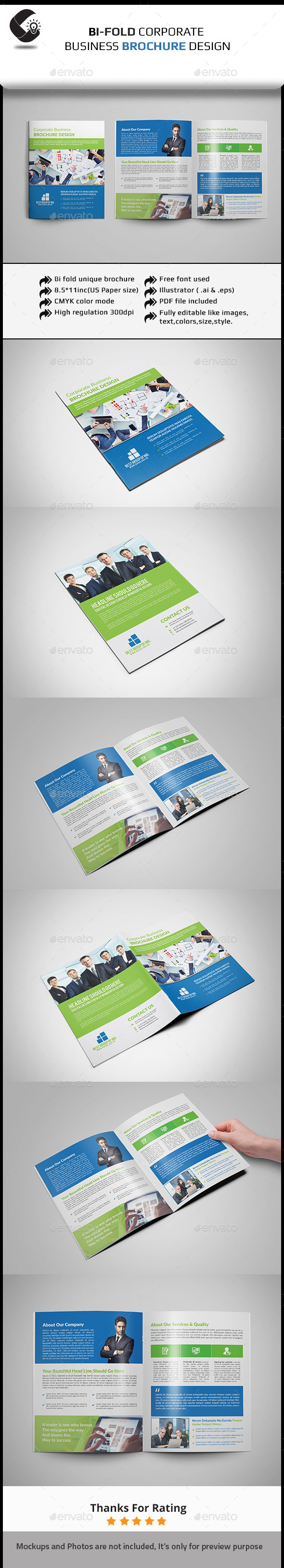 GraphicRiver Corporate Brochure 11554152