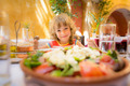 Child eating in summer cafe - PhotoDune Item for Sale