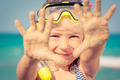 Happy child on the beach - PhotoDune Item for Sale