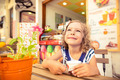 Happy child eating ice-cream - PhotoDune Item for Sale