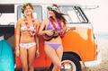 Surfer Girls Beach Lifestyle - PhotoDune Item for Sale