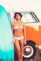 Surfer Girl Beach Lifestyle - PhotoDune Item for Sale