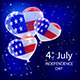 Independence Day Balloons and Stars - GraphicRiver Item for Sale