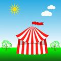 Circus Tent Icon - PhotoDune Item for Sale