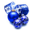 Christmas Baubles Over White - PhotoDune Item for Sale