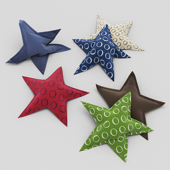 3DOcean Pillows Star 11554470