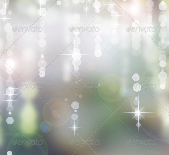 Abstract Christmas Background. Holiday Bokeh - Stock Photo - Images