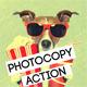 Photo Copy Photoshop Action - GraphicRiver Item for Sale