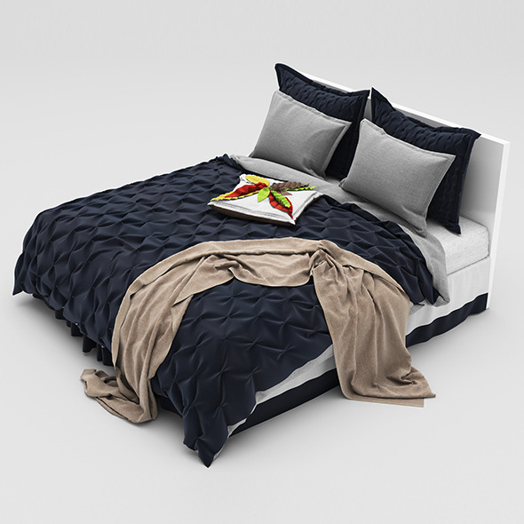 Bed 32 - 3DOcean Item for Sale