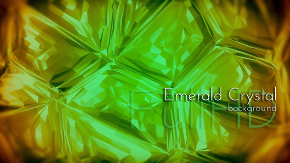 Emerald Crystal Animation