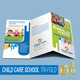 Corporate Child Care School Trifold - GraphicRiver Item for Sale
