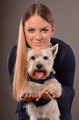 Westie and girl - PhotoDune Item for Sale