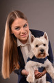 Girl and Westie - PhotoDune Item for Sale