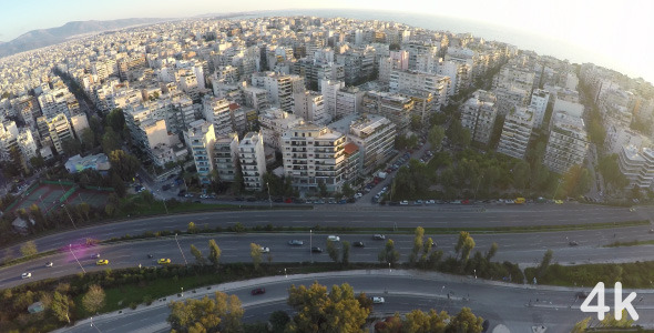 VideoHive Above City 3 11555697